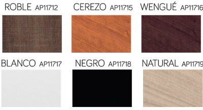 Colores y referencias disponibles del Canapé de Madera Abatible de Pikolin