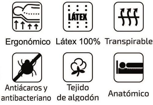 Características del Colchón Articulable y Desenfundable Látex Sport