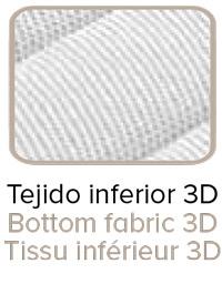 Colchón juvenil Sugar con Tejido 3D Transpirable