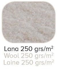 Capa aislante de lana para la cara de invierno del Colchón Wilson de calidad Premium