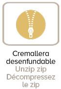 Cremallera Desenfundable para colchón geriátrico