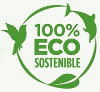 Producto 100% ecosostenible. Reciblado