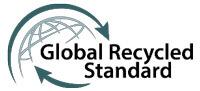 Certificado que acredita la utilización de materiales reciclados y aptos para el consumo humano
