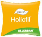 Fibra hueca siliconada antialérgica Hollofil Allerban de Dacron