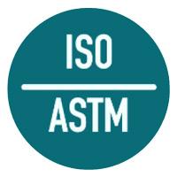 Certificado Internacional ISO y ASTM