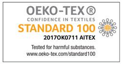 Certificación Oeko-Tex Standard 100 para productos Mash