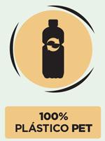 Plástico Reciclado 100% PET