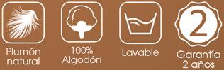 Características Duvet RP84 de Pikolin Home