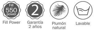 Ventajas del Edredón Nórdico Pikolin Home duvet RP84