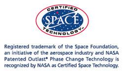 Marca Registrada por la NASA con certificado de Tecnología Espacial