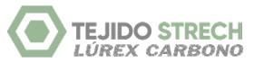 Tejido Strech Lúrex Carbono