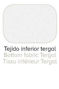 Colchón Chrome con tejido inferior Tergal