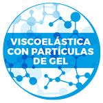 Viscoelástica con partículas de gel
